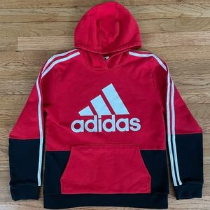 Adidas Long Sleeve Hooded Pullover